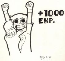 Scott Pilgrim: +1000 by WizardTypist