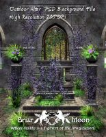 Outdoor Altar PSD BG by briarmoon-stock
