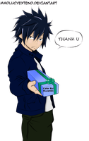 Gray Fullbuster~ Just this once by RLawt0n
