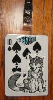 Playing Card Badge: Thorin by FlannMoriath
