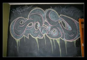 CHALK BOMB by Coltography