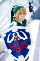 The Legend of Zelda OoT Link Cosplay by NikkiCosplay