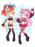 .:Idol:. Amy and Sally by NACCHAN96