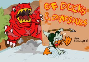 Of Ducks and Dinosaurs concept by BlueIke