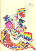 She is NOT a rainbow by thiagocaleal