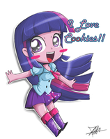 .:Equestria Chibi Girl:. by The-Butcher-X