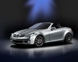 Mercedes SLK Airbrush by Pine-Cone