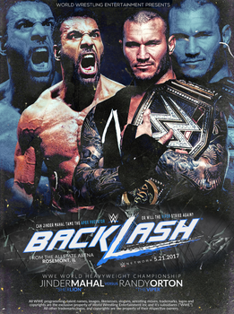 Custom Backlash 2017 Poster by designs-by-swerve