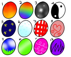 Egg adopties pack 2 by StarAdoptables