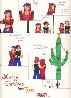Merry Christmas: From Texas by RedWingsDragon