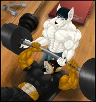 Benching by Ashy666