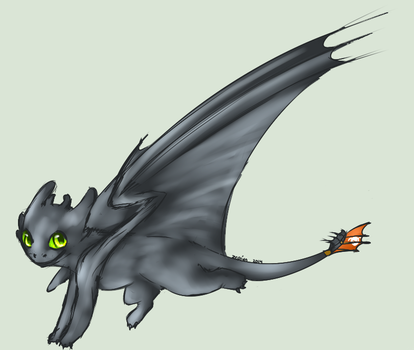 Because everyone needs toothless by zepIyn