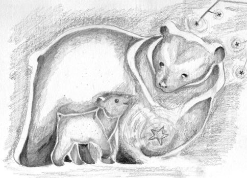 Ursa Mother and Cub by SoulLostAtSea