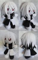 Commission, Mini Plushie Saylem, Otherworlde by ThePlushieLady