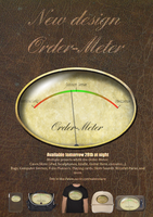 New reflective-philosophical design Order-Meter by nadamas