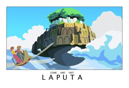 Laputa: castle in the sky by frasian