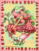 lolita strawberry mermaid by solipherus