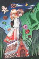 hansel and gretel full color by suppichan