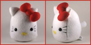Hello Kitty Plushie BDay Gift by Saint-Angel