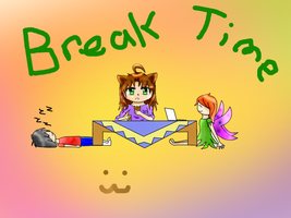 BreakTime by Wolf-Fenrir