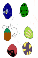 Free and cheap egg adopts (1 left) by TJgirl203