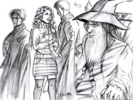 Harry Potter sketch by Luaprata91