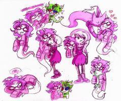 Fefeta Doodles_ by Umbra-Flower