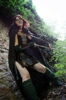 The woods are my territory - Aela the Huntress by Gekroent