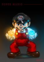 Mario_Fire and Ice by cow41087