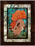 The Vulpix by Macuarrorro