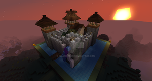 Tiny Castle Minecraft by iGamersBox