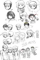 Snk Doodles by Just-Me143