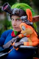 Jak and Daxter by seifer-sama
