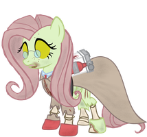 Fluttershy - Spectral Halloween Special by Avastindy
