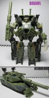 Movie figures: Brawl-Devastator by Lugnut1995