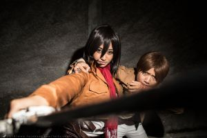 Hang in there, Eren! by LarkVisuals