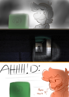 Never let Luigi play Slenderman by raygirl12