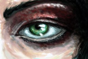 SpeedPaint Eye by niicya