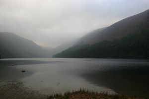 Glendalough Ireland by rysunek