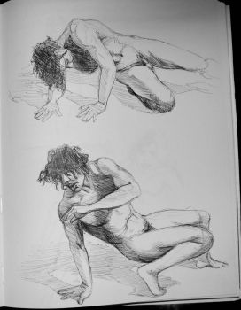 Sketchbook Figure drawings 3 by immobileFreedom