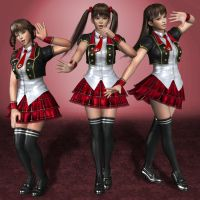 Dead Or Alive 5 Ultimate Leifang Team O by ArmachamCorp