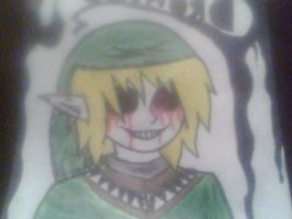BEN Drowned- poster piece by daisey166