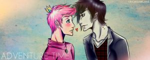 Pink and Grey by kidcrimsonflash