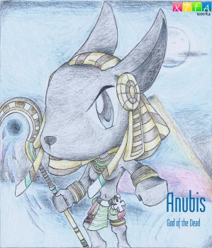 Anubis (Smite) by xander64lmh