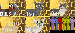 November Petz Show Awardz and Ribbonz by Deathdog3000