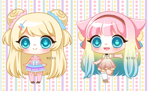 (CLOSED) Cotton Candy Adopts by neru-van
