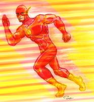The Flash by tarunbanned
