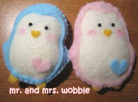 Mr. and Mrs. Wobble by keester
