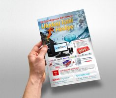 Technology Shop Flyer 2 by abaq