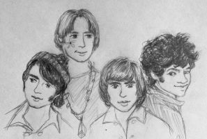 The Monkees by OneClassyLady